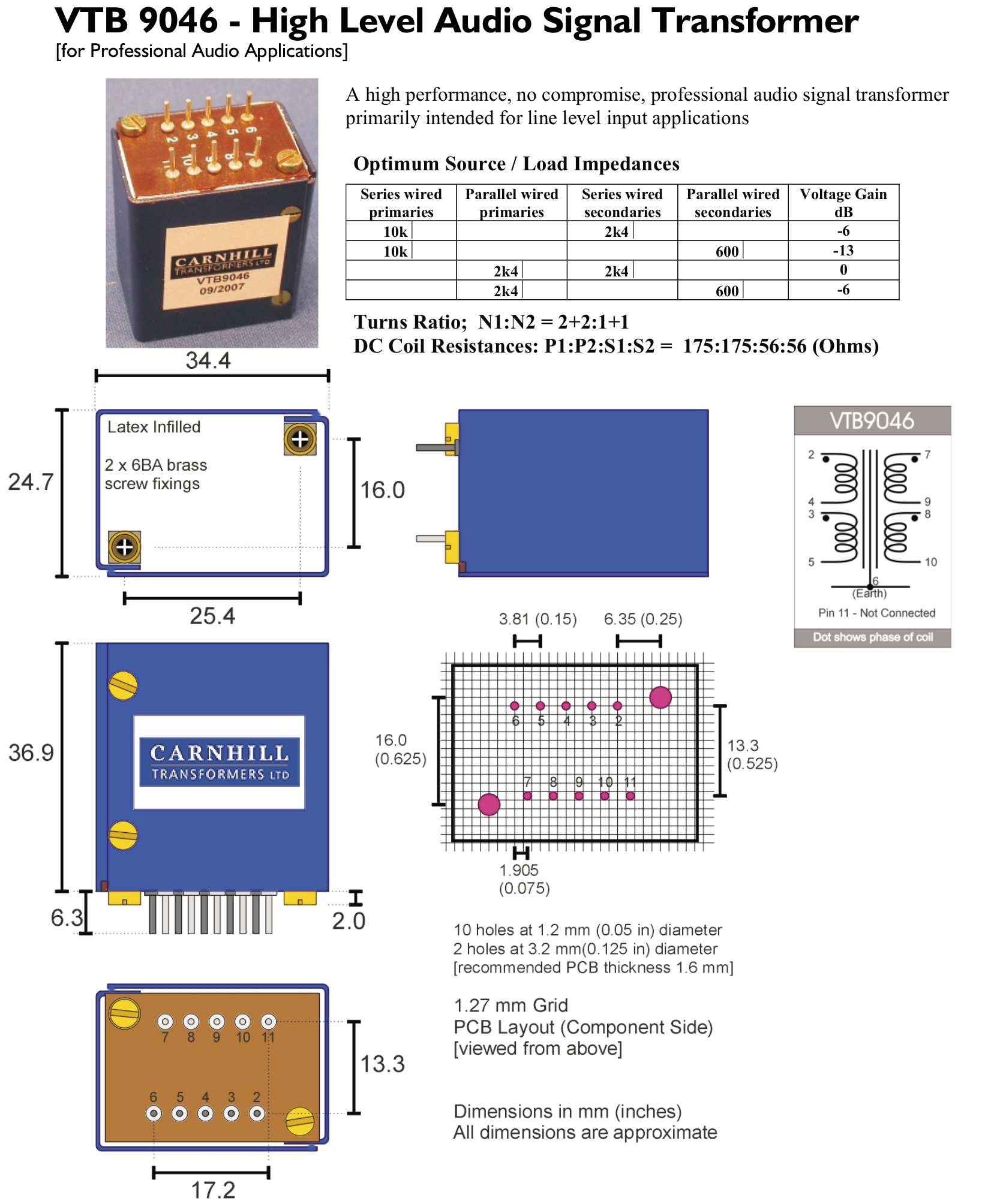 input transformer Vintage